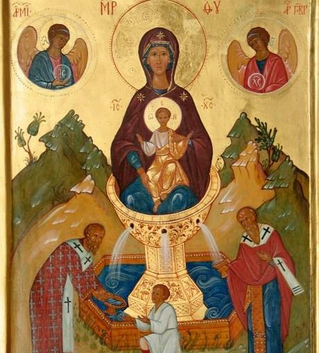 Пятница Светлой седмицы. Празднование в честь Пресвятой Богородицы ради Ее «Живоносного Источника».