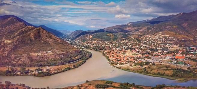 06.Слияние рек Арагвы и Куры