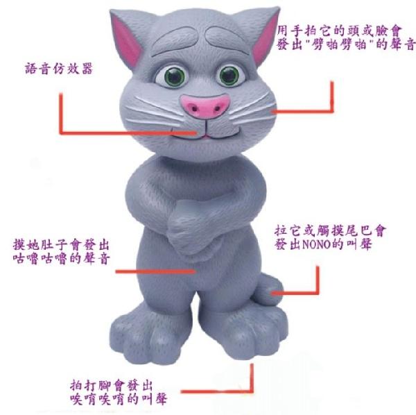 媽媽寶寶團購樂 智能湯姆貓/會說話的湯姆貓 | ihergo愛合購