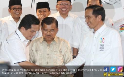 Respons Erick Thohir untuk Penentang Aksi Rabu Putih ala Jokowi - JPNN.COM