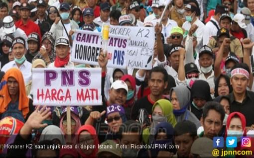 Ahmad Saefudin: Timses Capres dan Pejuang Honorer K2 Mirip Kerjanya - JPNN.COM