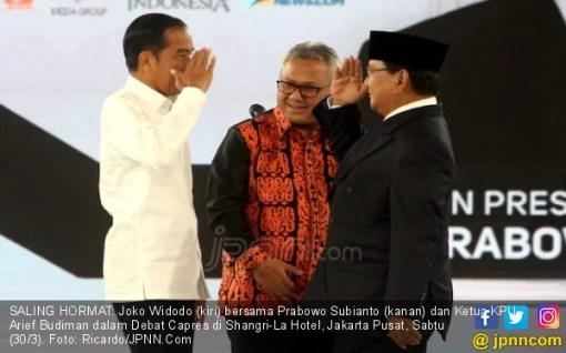 Bertemu di Debat, Jokowi dan Prabowo Sama-sama Curhat - JPNN.COM