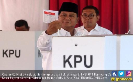 Prabowo Sudah Punya Hitungan Kemenangan, Yakin Suaranya Tembus 63 Persen - JPNN.COM