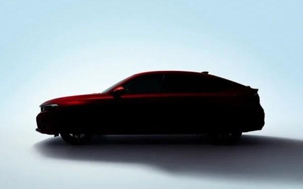 Jelang Peluncuran, Honda Civic Hatchback 2021 Mulai Menggoda - JPNN.com