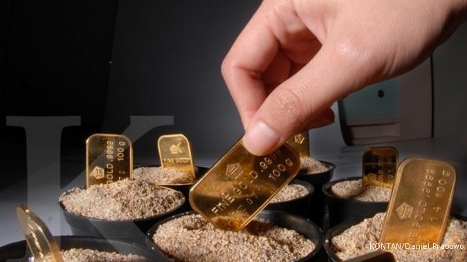 Harga emas Antam melompat lagi Rp 18.000 hari ini