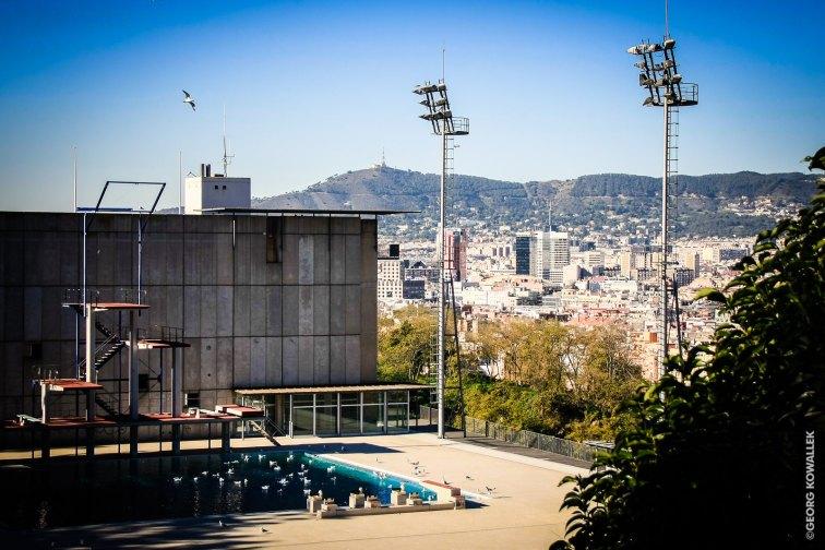 Das Olympiaschwimmbad am Ende der Welt