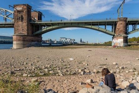 Südbrücke mit Besuch