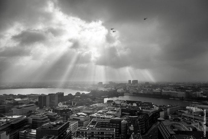 Hamburg in the morning