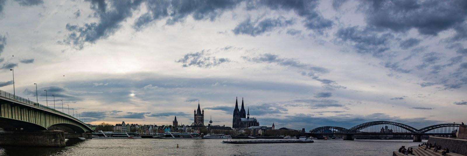 Köln von der East-River-Side
