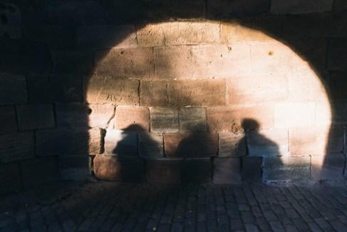 Drei Schatten