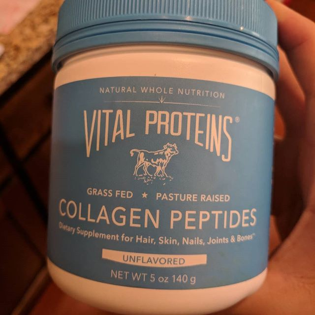 I feel for all of those collagen peptides that aren't able to run free and eat grass like collagen peptides have done for thousands of years.