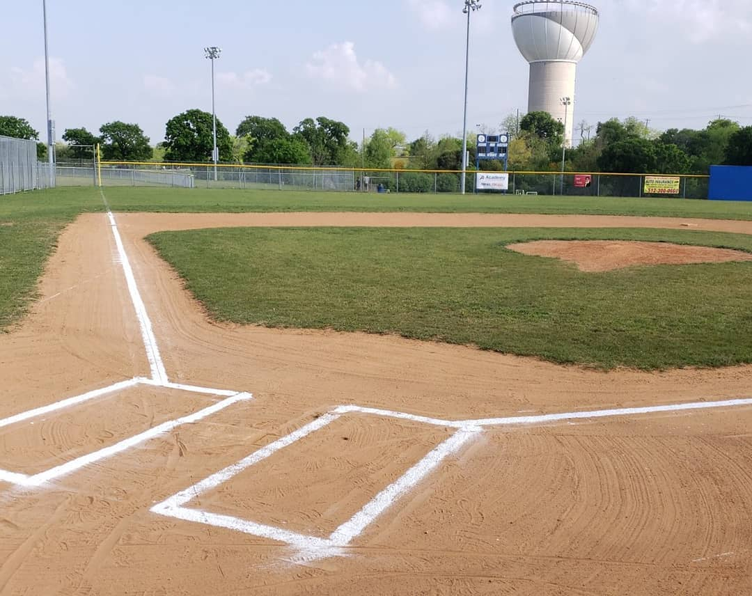 Our volunteer grounds crew sent out a picture of the field ready for tomorrow's games. They are all pure volunteers and we have some of the best youth fields in the city