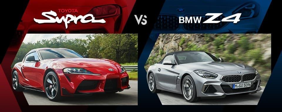 Toyota Supra vs. BMW Z4