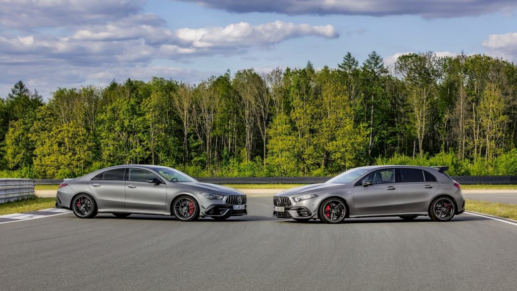 Mercedes AMG A 45 and CLA 45 2020