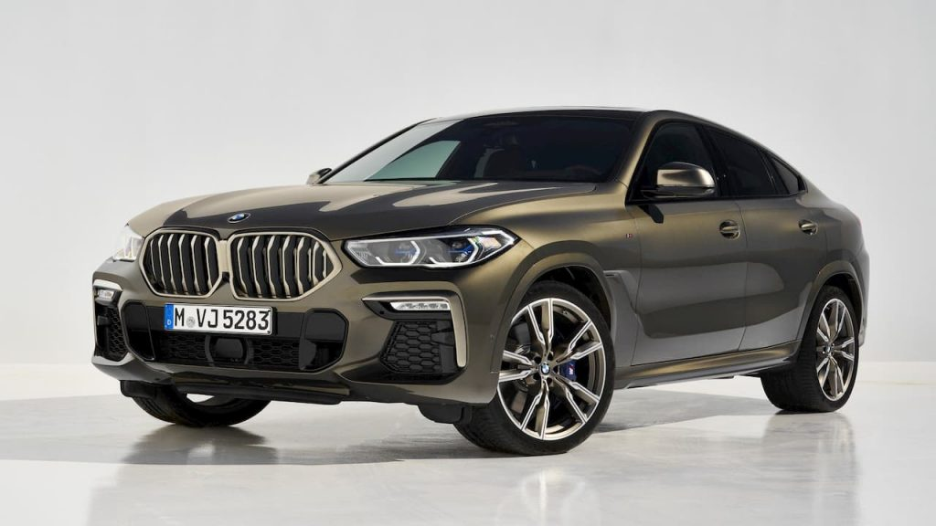 BMW officially launched the 3rd generation X6