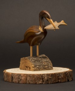 Product Photography: Carved Bird