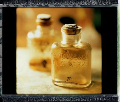 Still Life: Paint Bottle