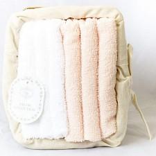 Набор для полотенец для рук (30x30 см) Оджи Наб-О5-персик ...