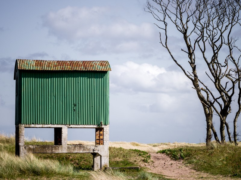 Tentsmuir Beach Hut