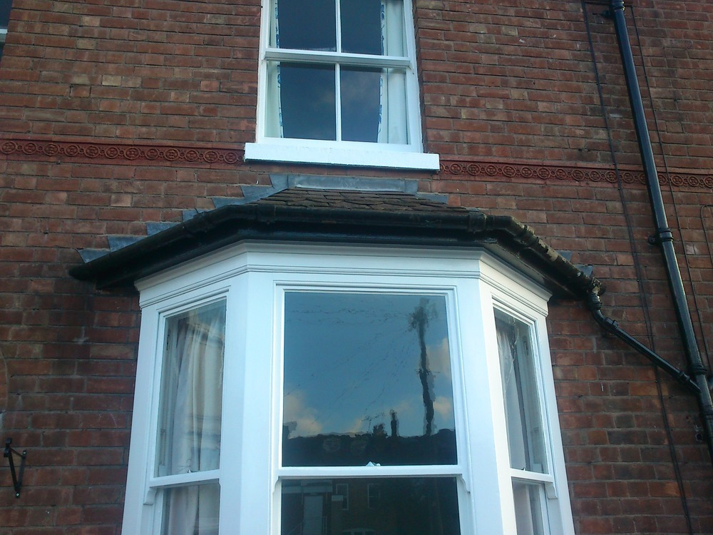 Asbestos Gutter Removal From Bay Window Waste Clearance