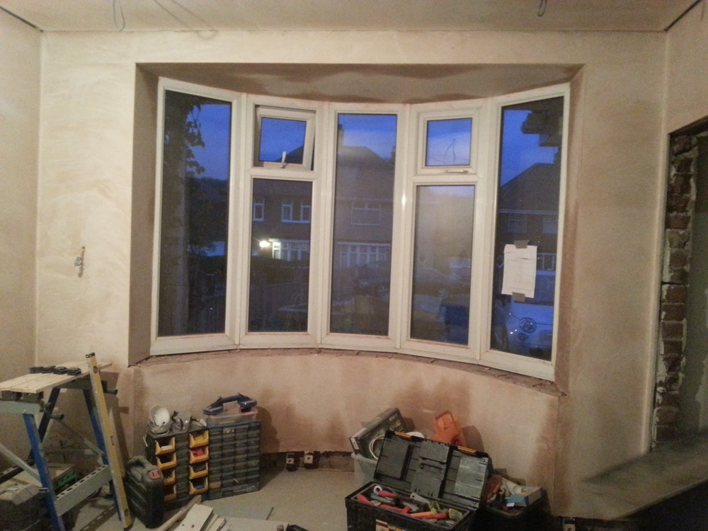 Internal Bay Window Sill Needed Wooden Joinery