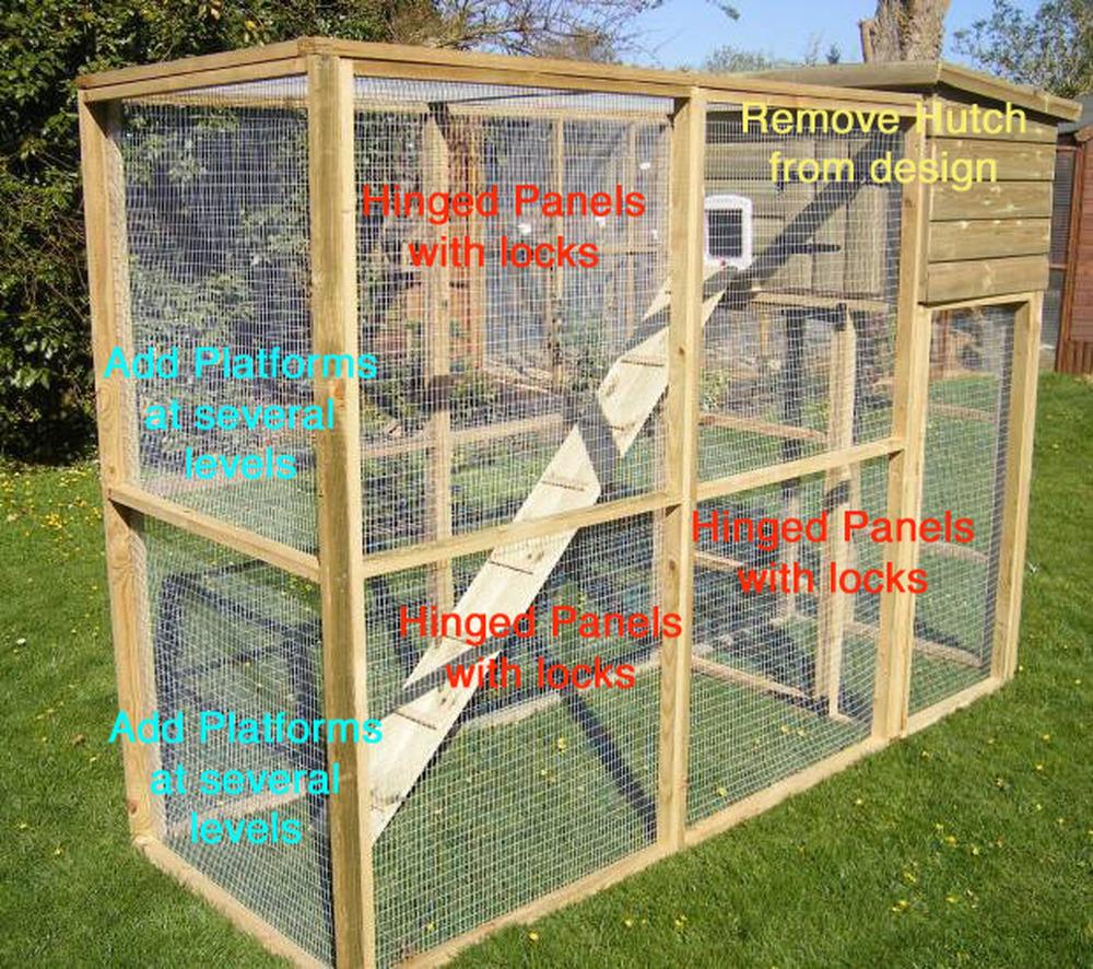 Build A Bespoke Ferret Run Carpentry Amp Joinery Job In