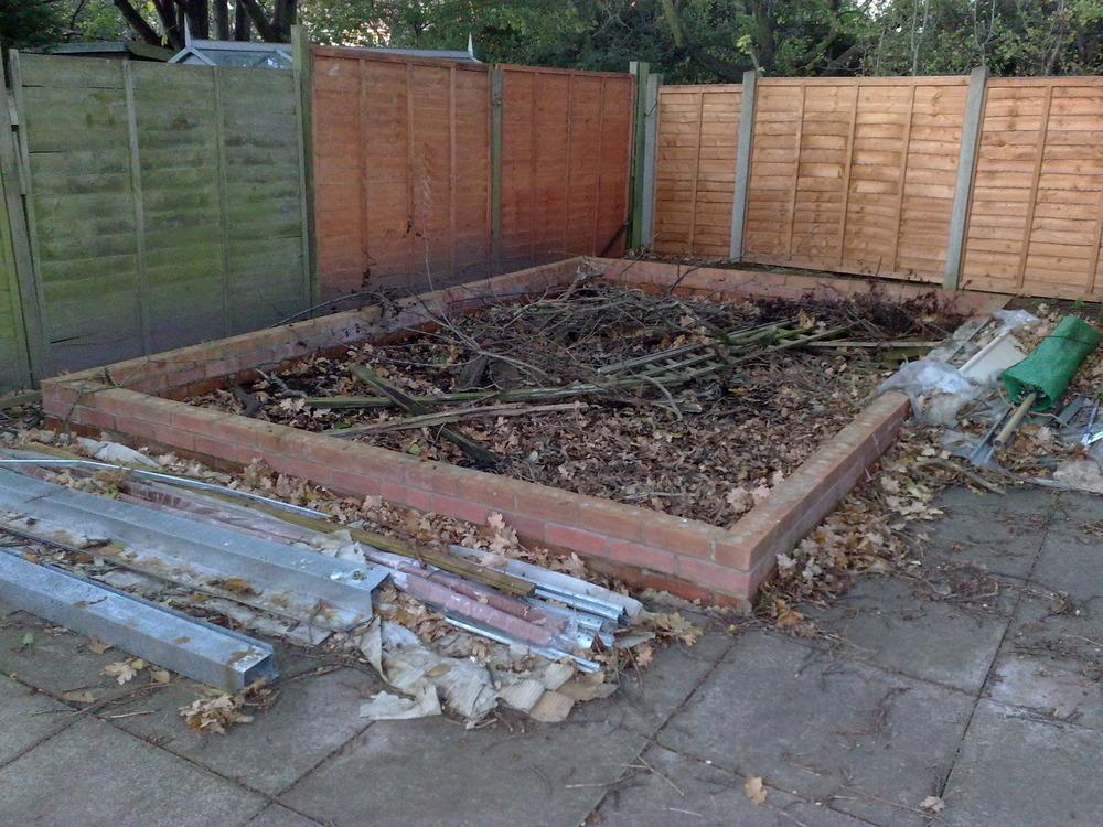 Garden 6 Wall How Foot Build