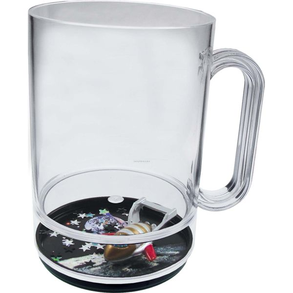 Space Voyager 16 Oz. Compartment Mug,China Wholesale Space ...