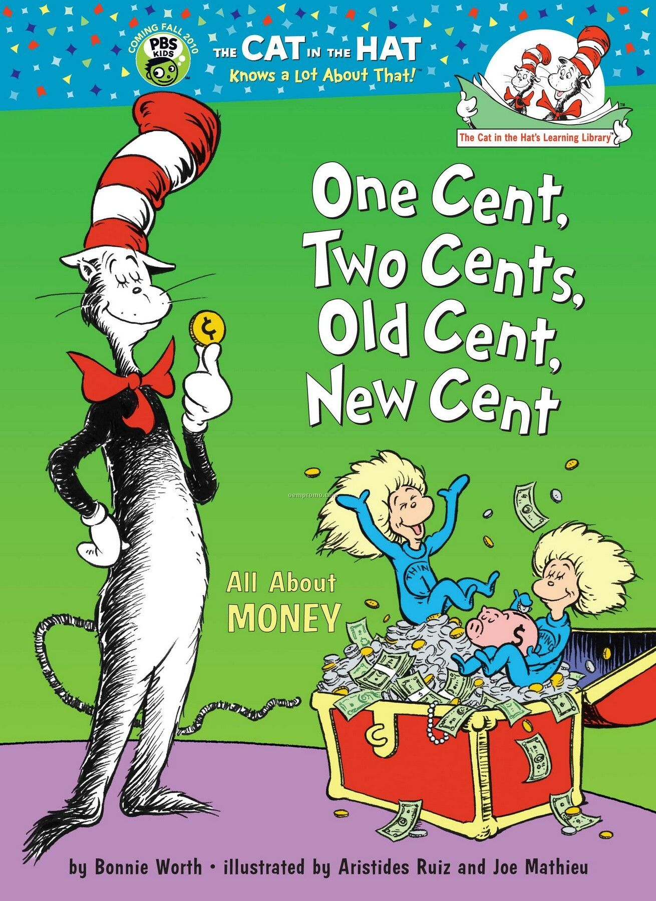 Dr Seuss One Cent Two Cents Old Cent New Cent China