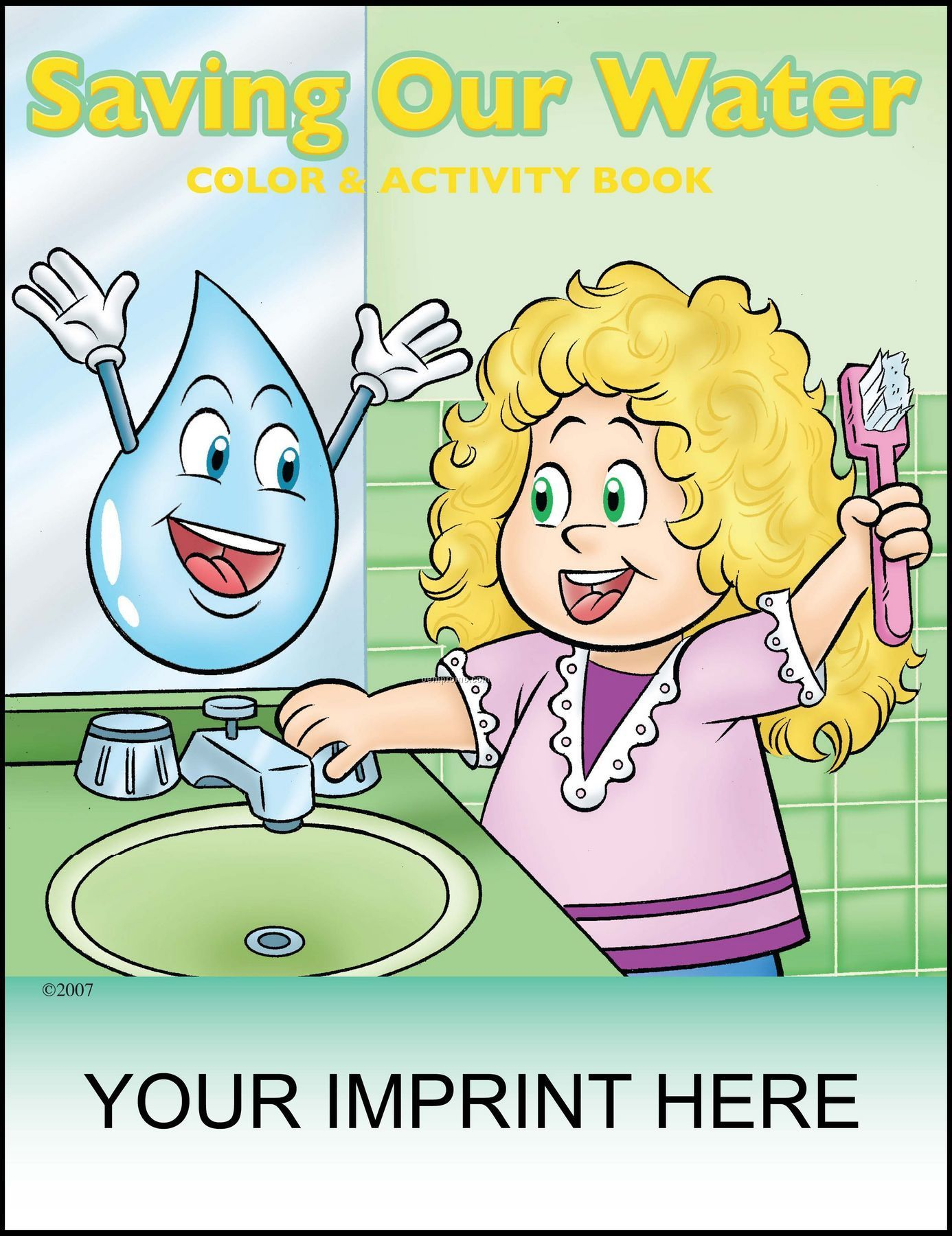 Saving Our Water Coloring Amp Activity Book China Wholesale