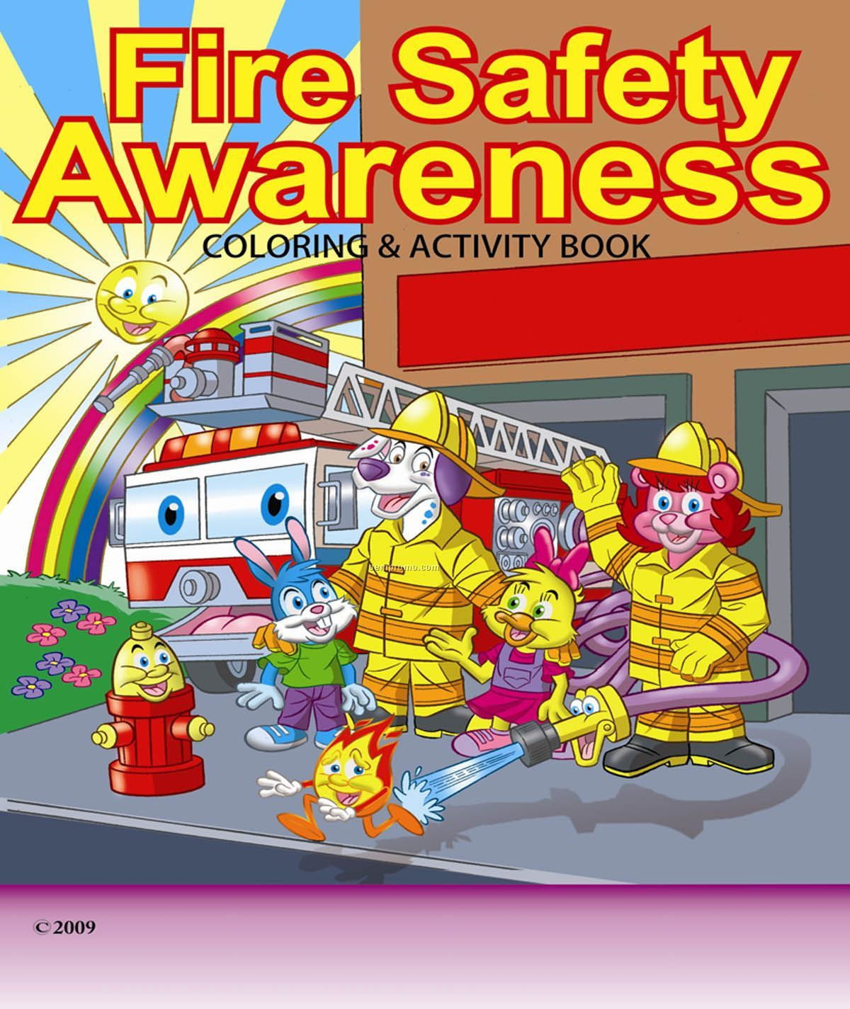 Fire Safety Awareness Children S Coloring And Activity
