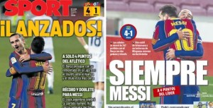 """""""Always Messi"""", """"Barcelona have one more player"""""""