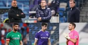 Choose the coach, goalkeeper and regular season team