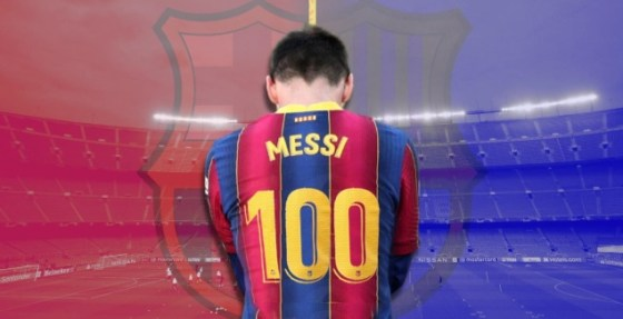 Leo Messi.  100 days for a decision (Reuters)