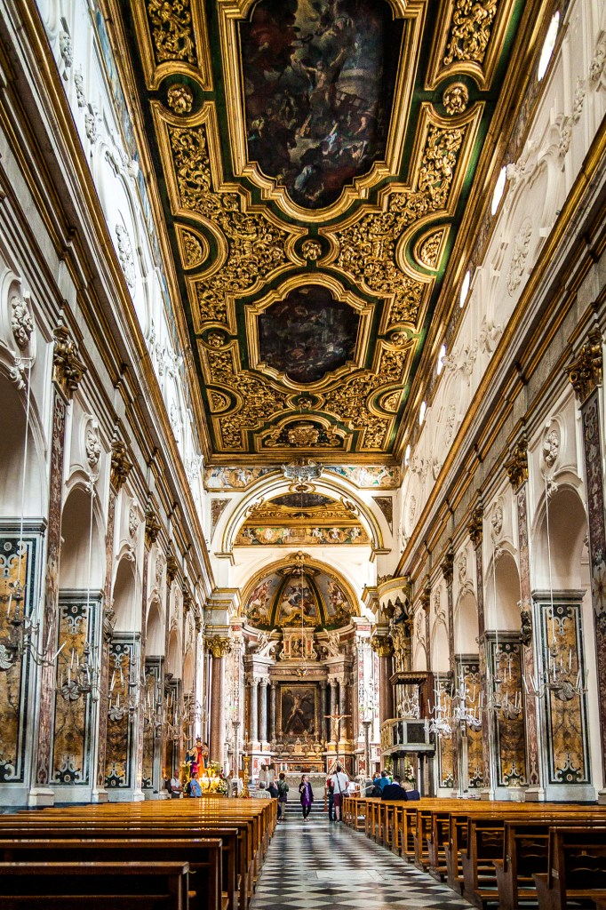 L'intérieur du Dôme d'Amalfi