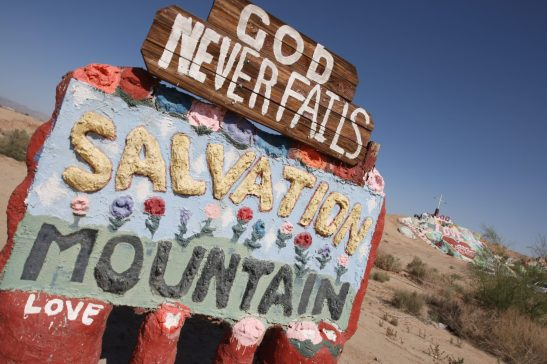 Salvation Mountain (Photo by Steve Cirone)
