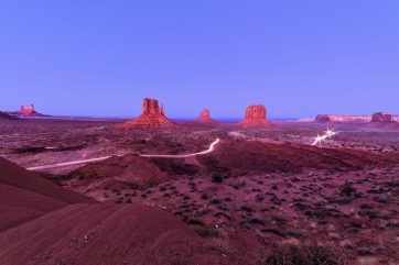 Honorable mention, Landscape category: Rick Barr