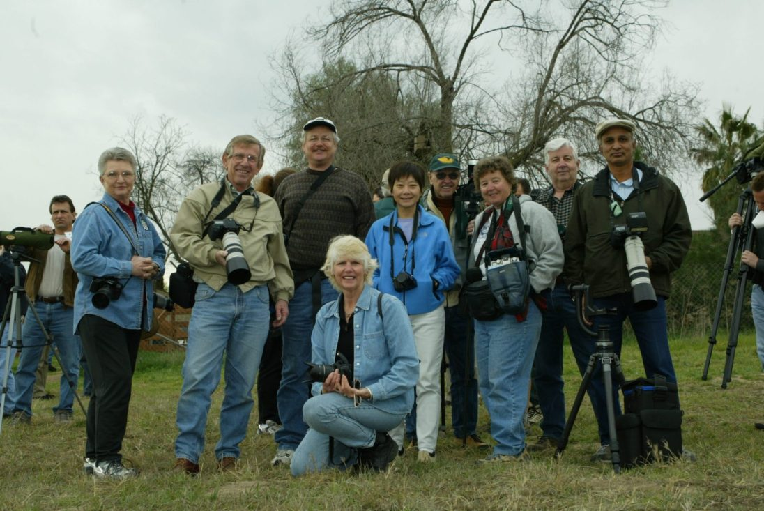 San Diego Photo Club at the Hawk Watch 2004. Photo by Steve Cirone.