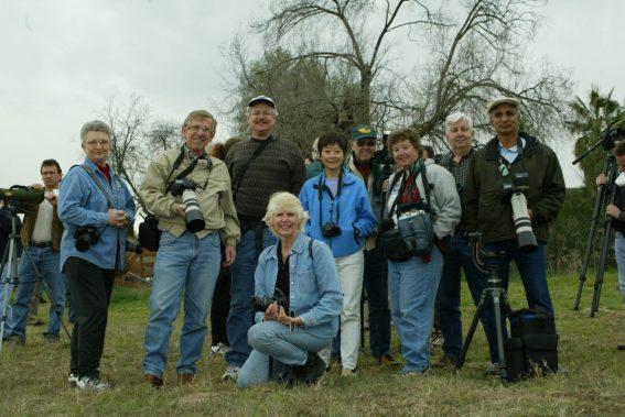 San Diego Photo Club at the Hawk Watch 2004. Photo by Steve Cirone.