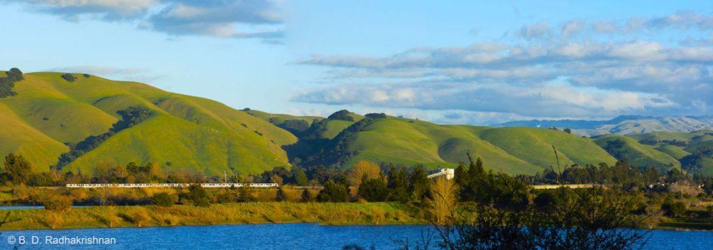 Ben Radhakrishnan - Serene Train Commuting Surroundings
