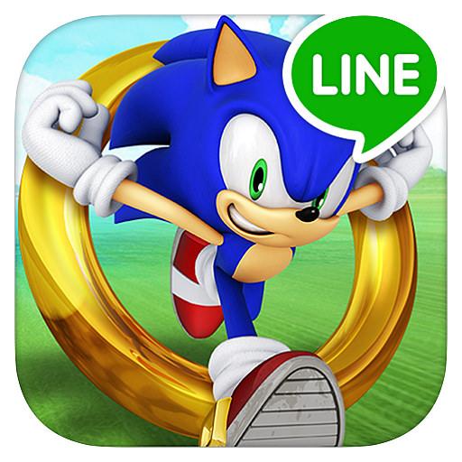 LINE SONIC DASH S - 音速小子跑酷闖關遊戲@經典好玩作品   搜放資源網