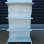 1x Double Sided Gondola Shelving Shelf Gd 100 199 00