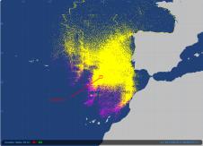 2012-11-14 Vendée Globe satellite