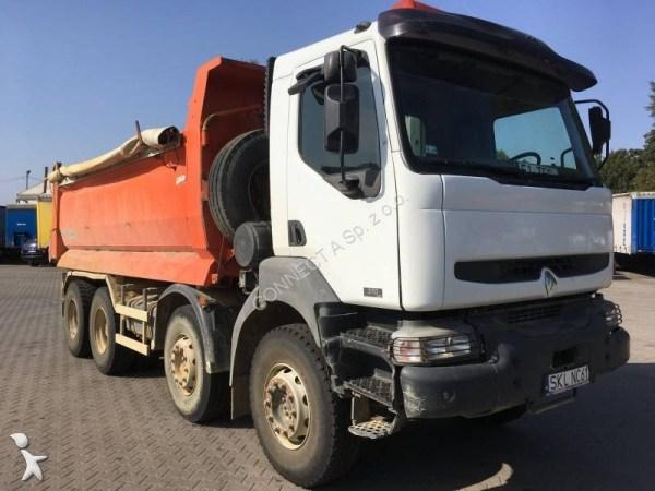 Camion Renault benne Kerax 8x4 Gazoil Euro 3 occasion - n ...