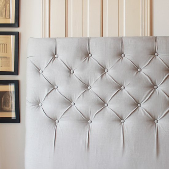 diy headboard gallery   craftgawker     Diamond Tufted Headboard Tutorial