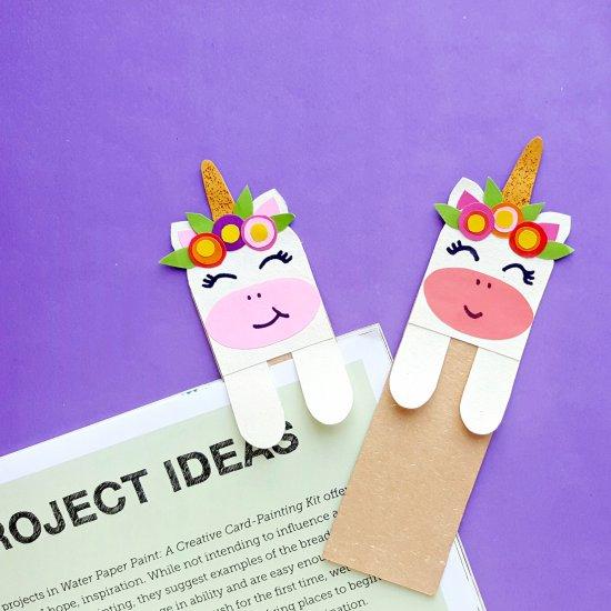 printable unicorn bookmarks # 48
