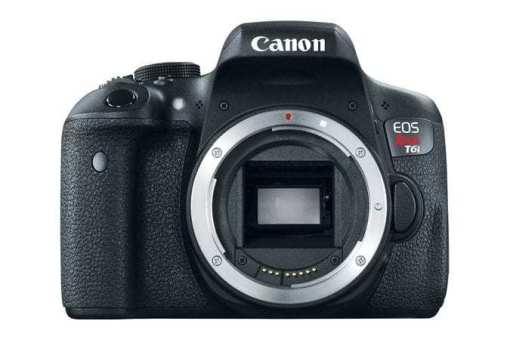 eos rebel t6i dslr camera front d - Canon EOS Rebel T6i EF-S 18-55mm IS STM Lens Kit