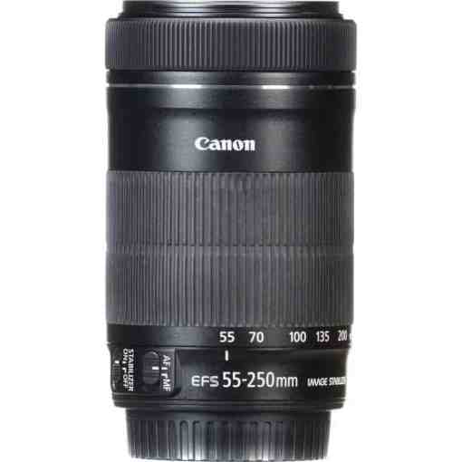 Canon EF S 55 250mm16 - Canon EF-S 55-250mm f/4-5.6 IS STM Lens