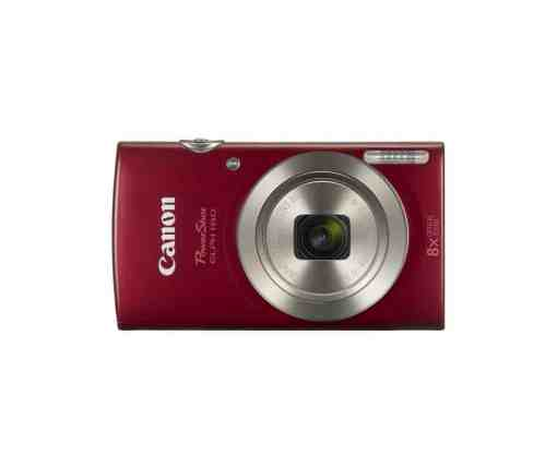 Canon PowerShot ELPH 180 Digital Camera Red1 - Canon PowerShot ELPH 180 Digital Camera (Red)