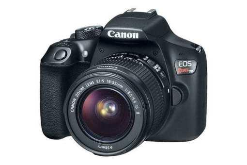 eos rebel t6 3q d - Canon EOS Rebel T6 Digital SLR Camera + 18-55mm EF-S f/3.5-5.6 IS II Lens